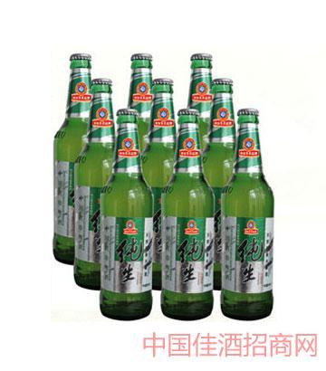 纯生啤酒500mlx9