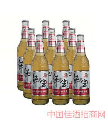 纯生啤酒500mlx9塑包
