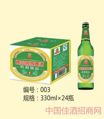 鲁雪啤酒330ml24瓶装
