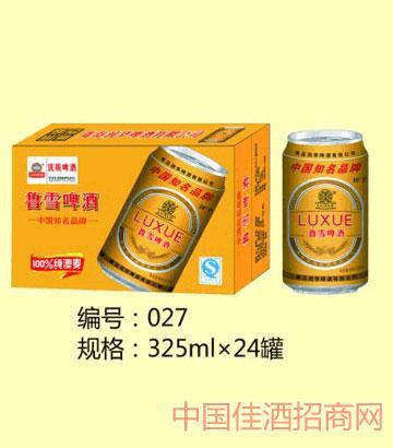 鲁雪啤酒325mlx24