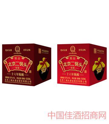 永丰牌京韵系类十六年陈酿原浆50度500ML北京二锅头酒