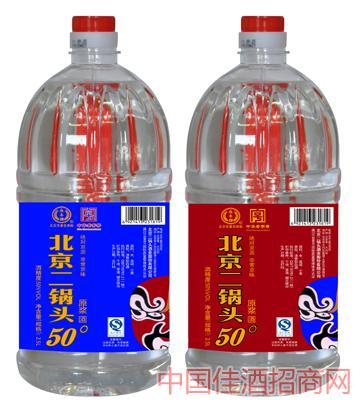 永豐牌京韻系類原漿50度2.5L北京二鍋頭酒