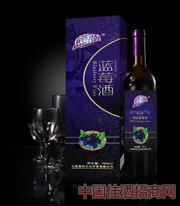 蒂蓝蓝莓酒效果图