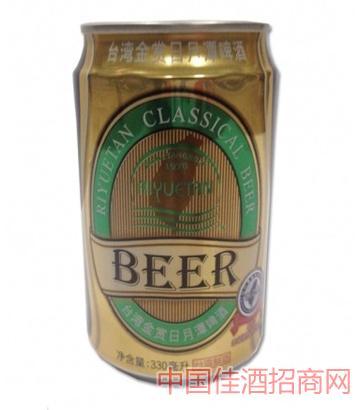 台灣金賞日月潭啤酒(罐装)