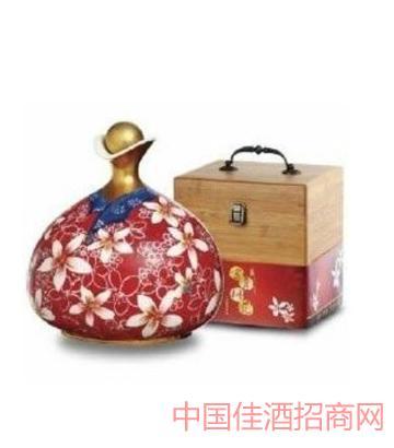 台湾原窖1950富贵桐花酒