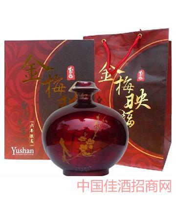 台湾玉山原窑六年陈高-金梅映福酒