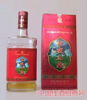500ML雪域三宝酒