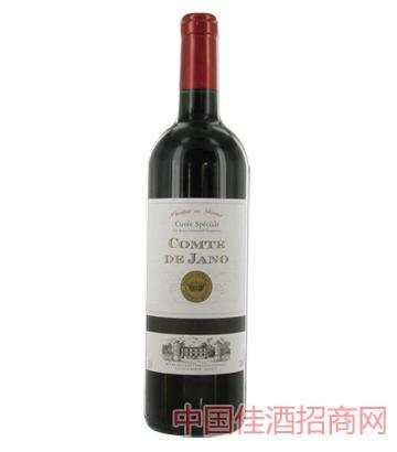 雅诺伯爵葡萄酒12%vol750ml