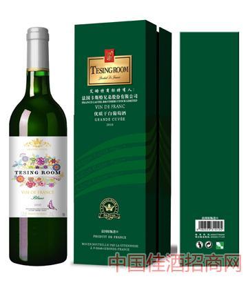 艾略特优质干白葡萄酒12%vol750ml