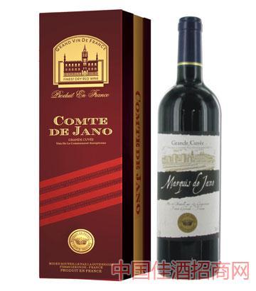 雅诺候爵葡萄酒12%vol750ml