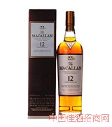 Macallan-麦卡伦12年单一麦芽苏格兰威士忌-700ml
