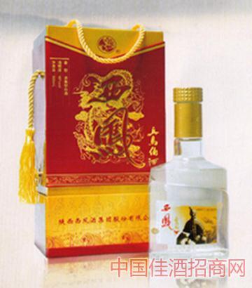 45°精品红盒西凤兵马俑酒