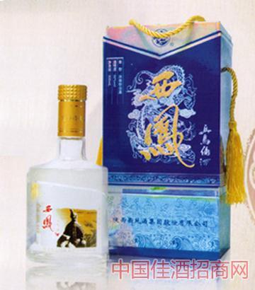 50°精品蓝盒西凤兵马俑酒