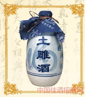 375mlx12咸亨土雕酒10年陈