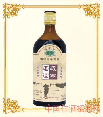 500mlx6咸亨老酒10年陈酿