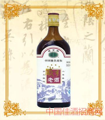 500mlx12咸亨老酒8年陈酿
