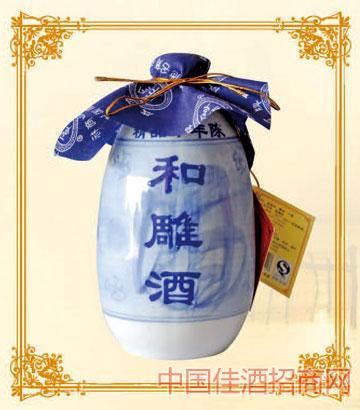 375mlx6咸亨黄酒和雕精品10年陈酿