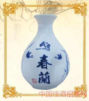 375mlx6咸亨黄酒春兰10年陈酿
