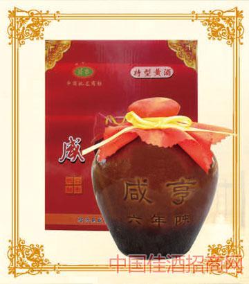 350mlx6特型咸亨黄酒