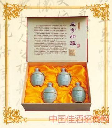 250mlx4x5咸亨黄酒和雕10年陈酿