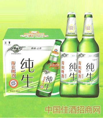 汉德青爽纯生啤酒