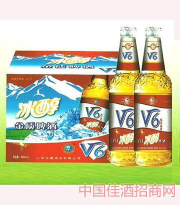 汉德百士v6啤酒