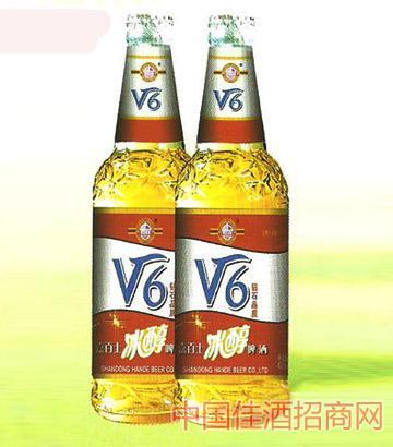 冰醇啤酒v6瓶装
