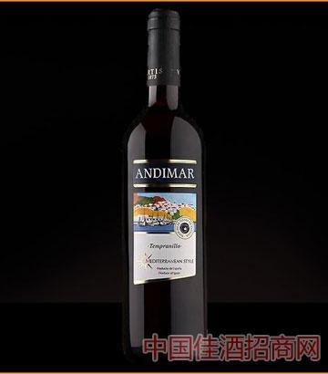 爱之湾精选干红葡萄酒