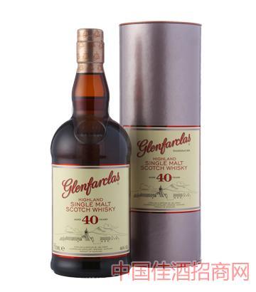 格兰花格40年单一麦芽威士忌