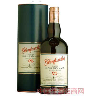 格兰花格25年单一麦芽威士忌