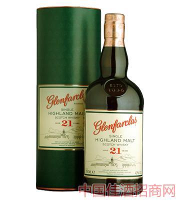 格兰花格21年单一麦芽威士忌