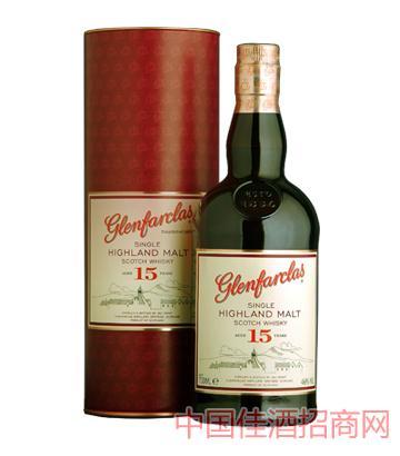 格兰花格15年单一麦芽威士忌