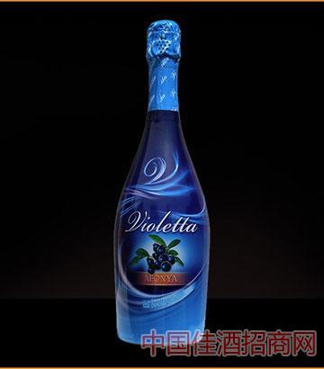 爱之湾蓝莓汽酒