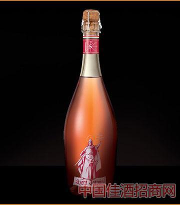 圣伊斯凡桃红起泡葡萄酒