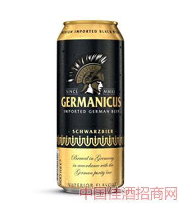 格尔曼黑啤500ml啤酒