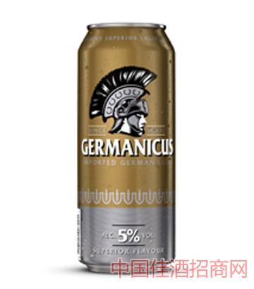 格尔曼黄啤500ml啤酒