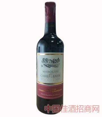 欢乐公园红葡萄酒