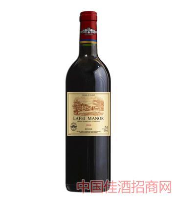 2008拉菲庄园子爵干红葡萄酒