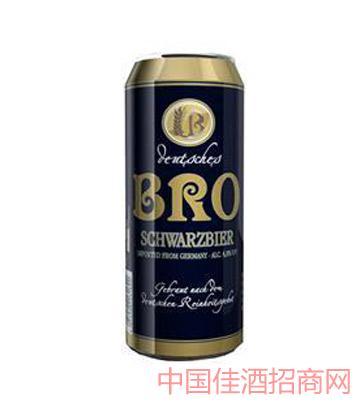 彼樂黑啤酒罐裝
