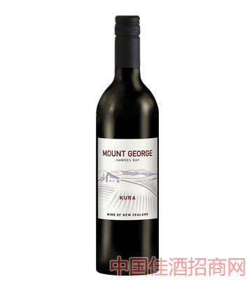 乔治山库乐干红葡萄酒