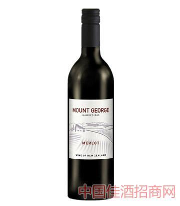 乔治山梅洛干红葡萄酒