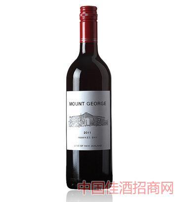 乔治山干红葡萄酒