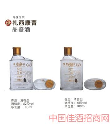 48°及53°清香型原浆青稞酒