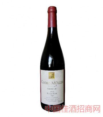 乔治穆勒黑皮诺干红葡萄酒