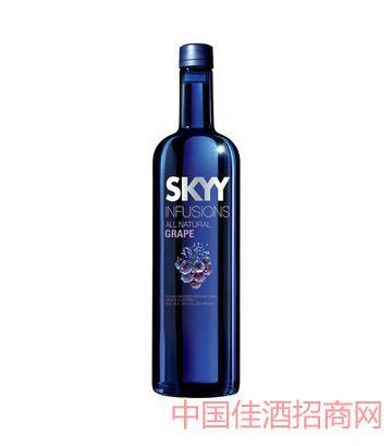 深蓝牌伏特加(葡萄味)750ml