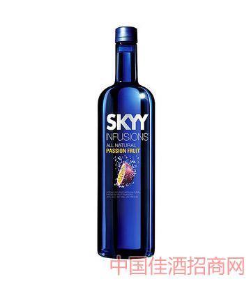 美国深蓝牌伏特加(热情果味)750ml