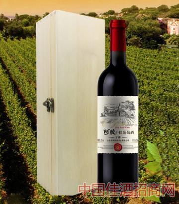 阿胶干红葡萄酒子爵