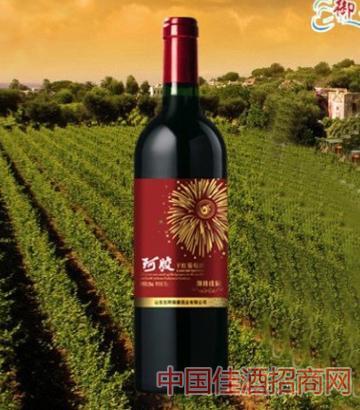 阿胶干红葡萄酒喜宴