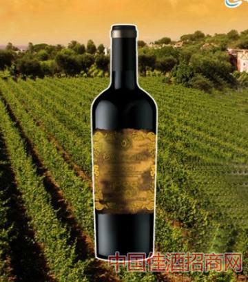 阿胶干红葡萄酒奢藏
