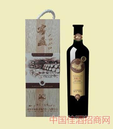 窖藏1989单只木盒葡萄酒